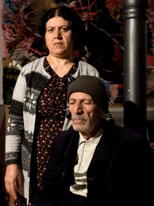 Hassan and his wife are living in an asylum center since they came to denmark 8 years ago. Hassan is now 72 years old, he suffers from dementia. 60 - 80 Iraqi refugees, whose asylum applications have been rejected, seek in May 2009 shelter in the Church of Brorson. Some have been in Denmark for up to 10 years. Human rights organizations, the United Nations refugee agency UNHCR have asked the government to allow them to stay on a humanitarian basis.