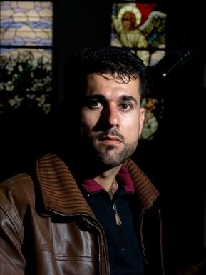Sarhang is 27 years old. He came to Denmark 6 years ago. His mother and father have residence permit in Denmark and live outside the refugee center. He wishes to live with his familly. But was denied asylum by the Danish authorities. 60 - 80 Iraqi refugees, whose asylum applications have been rejected, seek in May 2009 shelter in the Church of Brorson.