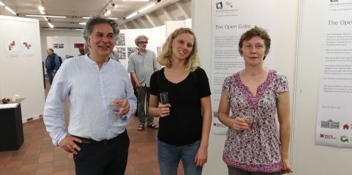 - Patricia Sonville, Sarah Herssens, Thierry Wieleman The Open Cube - Expo - Karreveld