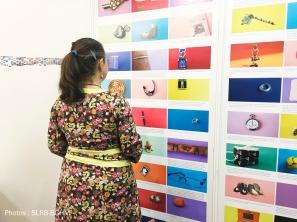 Images de souvenirs et histoires récoltés auprès des habitantsThe Open Cube - Expo - Karreveld