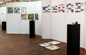 Mosaïque des rampes d'entrées - The Open Cube - Expo - Karreveld